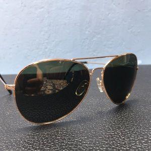Polaroid aviator polarized sunglasses 04214